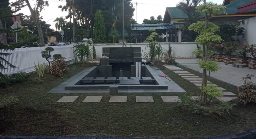 TamanKu 10 - TamanKu - Jasa Pembuatan Taman dan kolam Hias Pekanbaru