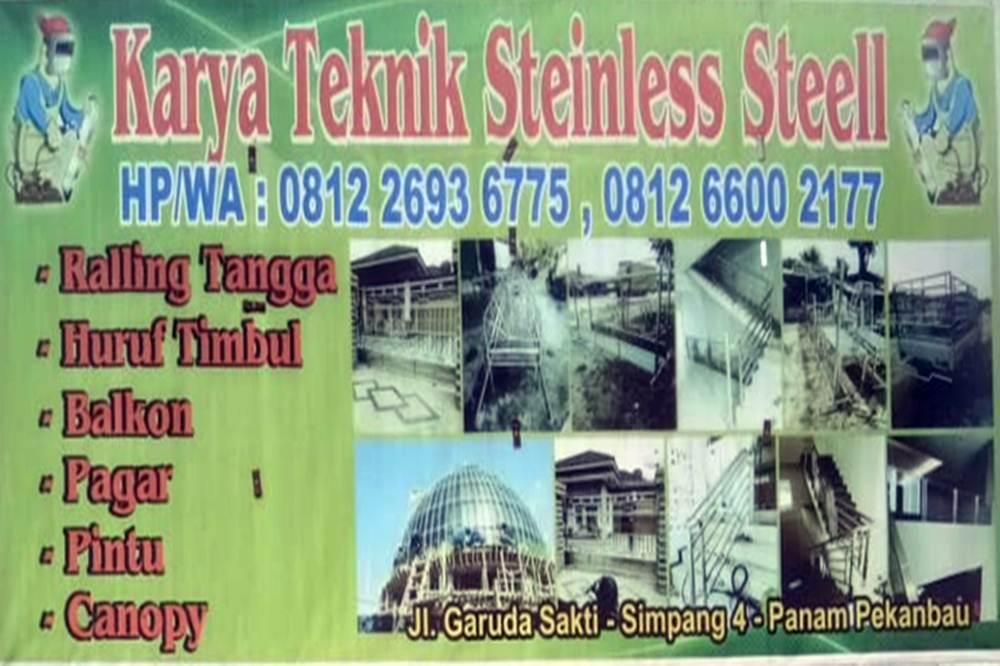 Karya Teknik Stainless Steel 2 1 - Karya Teknik Stainless Steel 2 - Bengkel las Khusus Stainless Steel Pekanbaru