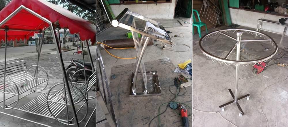 Karya Teknik Stainless Steel 2 5 - Karya Teknik Stainless Steel 2 - Bengkel las Khusus Stainless Steel Pekanbaru