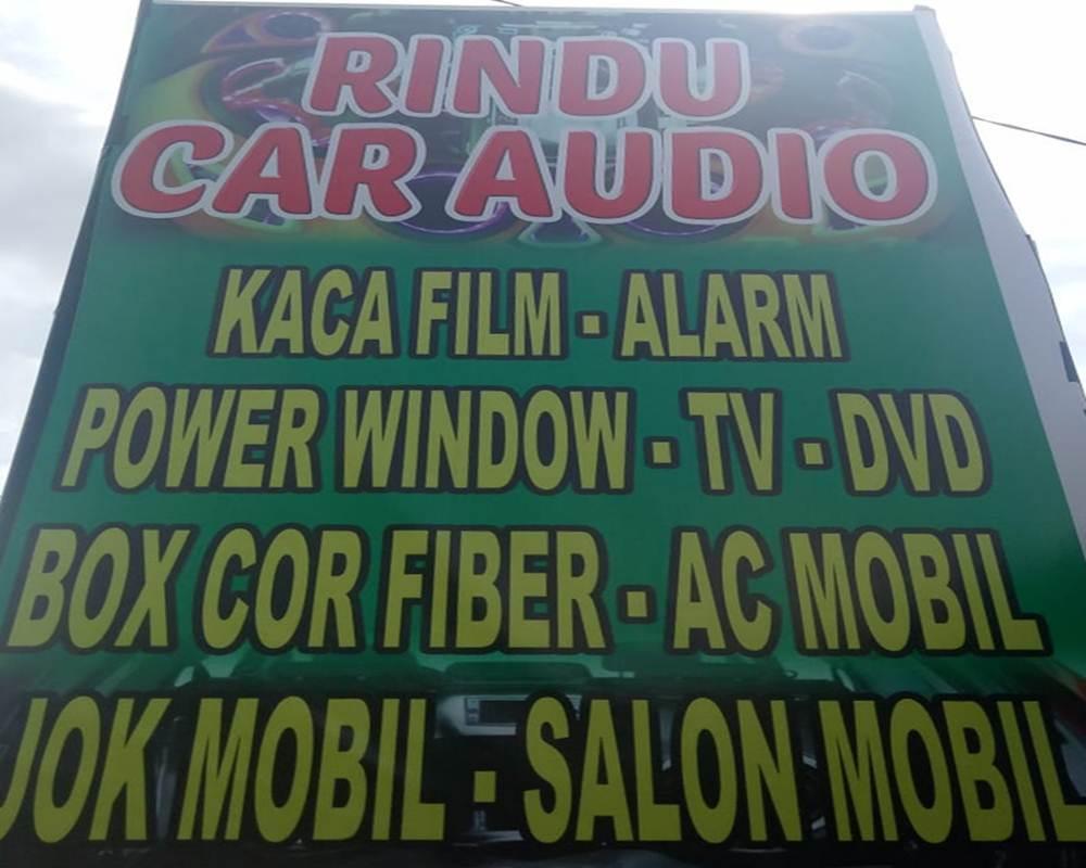 Rindu Car Audio 2 - Rindu Car Audio - Toko Audio Rumbai Pekanbaru