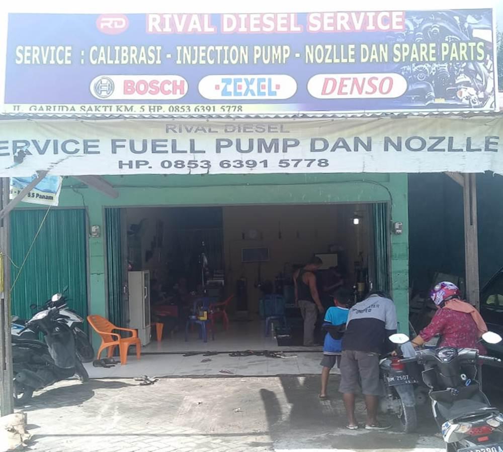 Rival Diesel Service 2 - Rival Diesel Service - Bengkel Service Fuel Pump dan Nozlle Kampar Pekanbaru