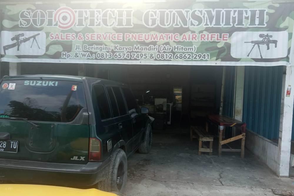 Solotech Gunsmith 1 - Service Penjualan dan Aksesoris Senapan Angin Bergaransi Pekanbaru