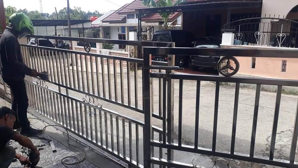 BENGKEL LAS RIDO TUNAS MEKAR 22 - Karya Jaya Abadi - Bengkel Las Panam Pekanbaru