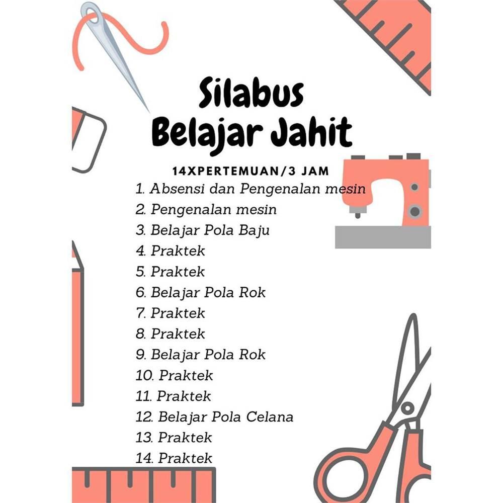 Rumah Jahit Pekanbaru 3 - Kursus Menjahit Panam Pekanbaru