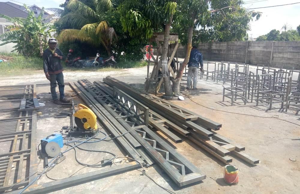 BENGKEL LAS JAYA STEEL 3 - Bengkel Las jaya Steel - Bengkel Las dan Pemasangan Acp Pekanbaru