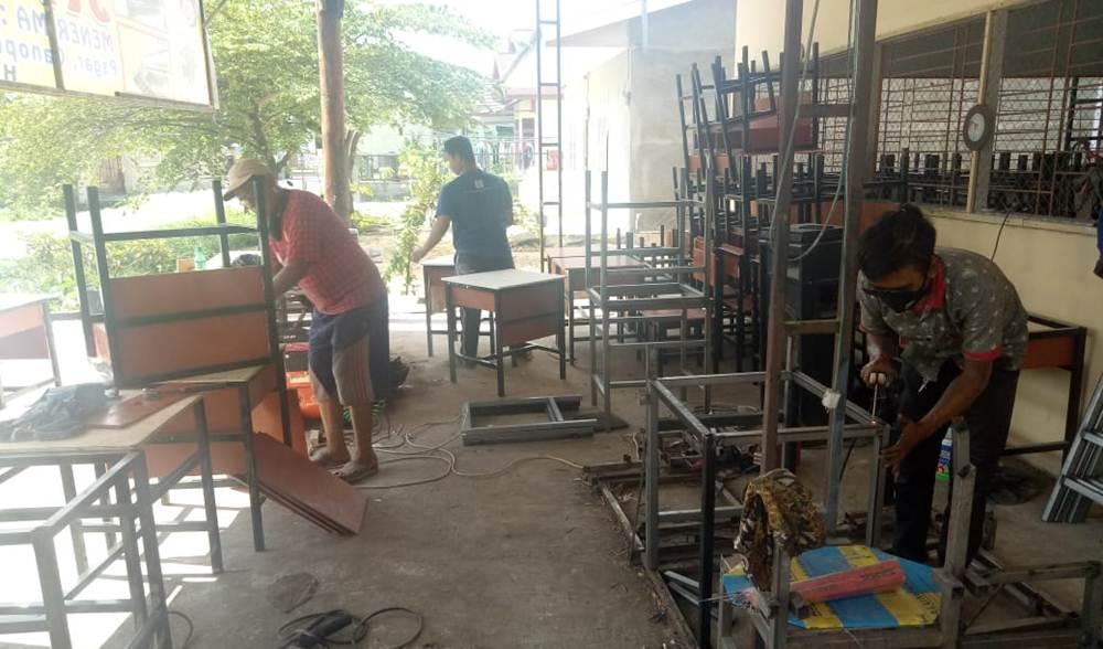 BENGKEL LAS JAYA STEEL 4 - Bengkel Las jaya Steel - Bengkel Las dan Pemasangan Acp Pekanbaru