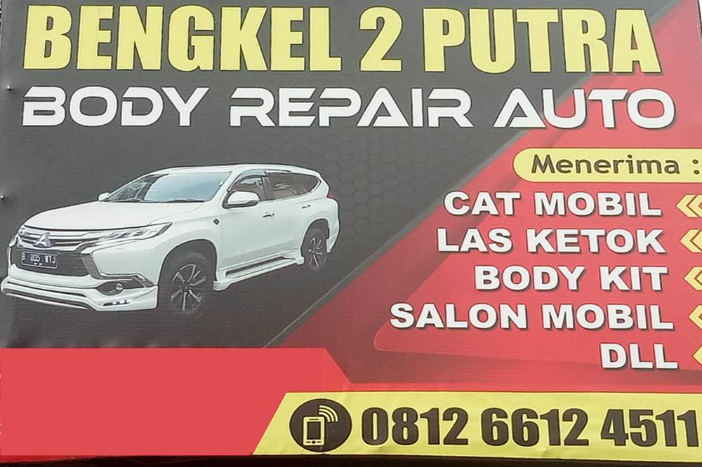 Bengkel 2 Putra Body repair Auto 1 - Bengkel 2 Putra Body repair Auto - Bengkel Cat dan Body Repair Panam Pekanbaru