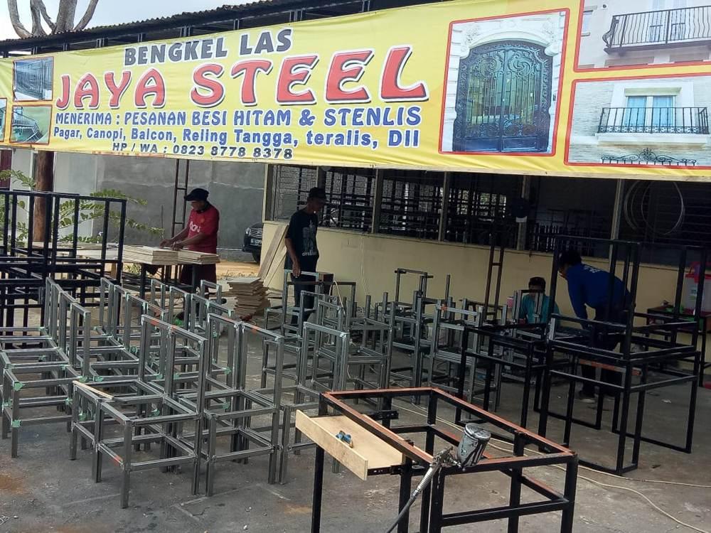 Bengkel Las jaya Steel 2 - Bengkel Las jaya Steel - Bengkel Las dan Pemasangan Acp Pekanbaru