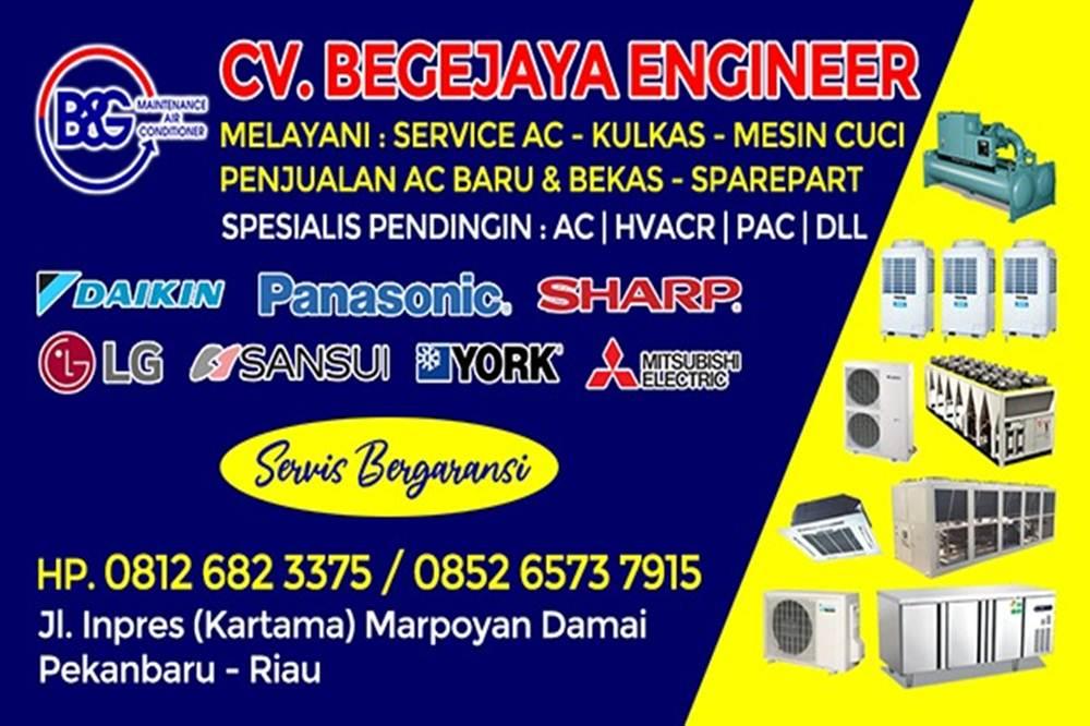 Cv Begejaya Enginer 6 - Cv Begejaya Engineer - Spesialis Pendingin dan Service Ac Marpoyan Panam Pekanbaru