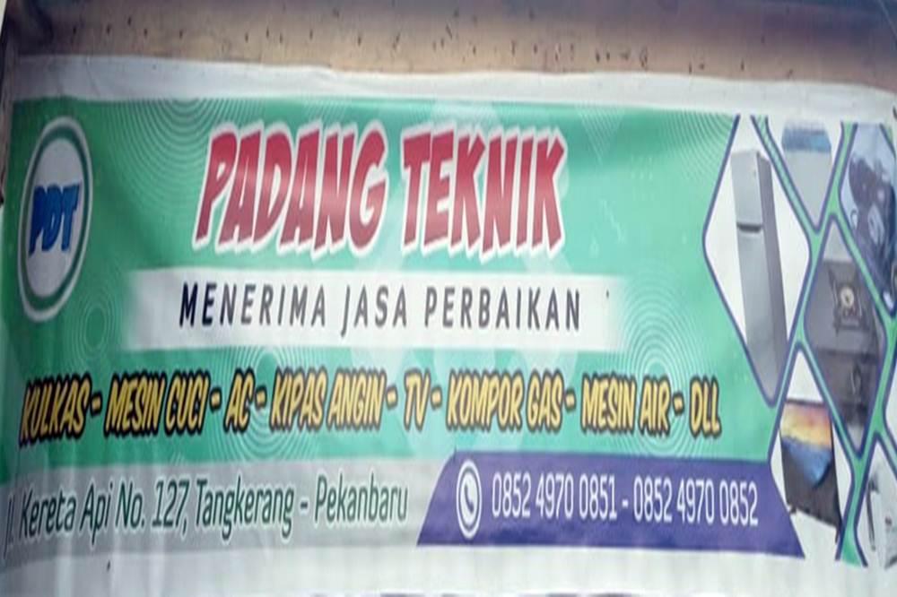 Padang Teknik - Jasa Perbaikan Elektronik Pekanbaru