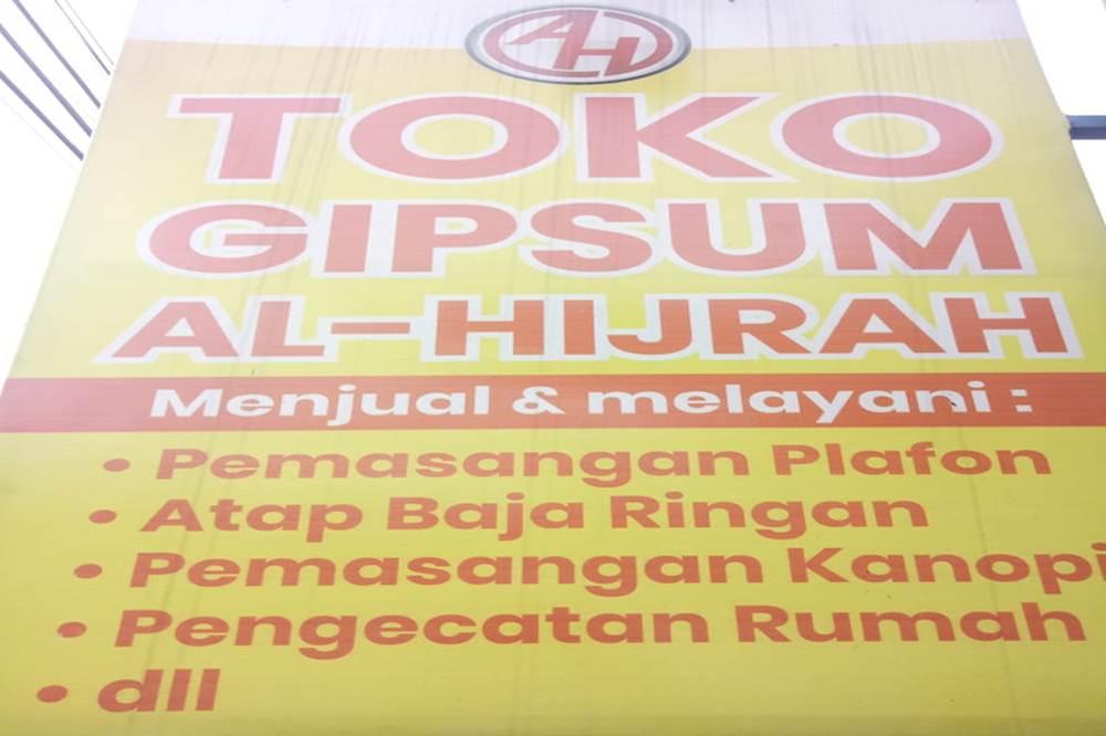Toko Gypsum Al-Hijrah - Toko Gypsum Pekanbaru