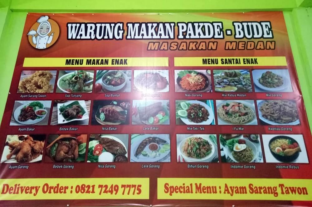 Warung Makan Pakde Bude -Warung Makan Masakan Medan Pekanbaru