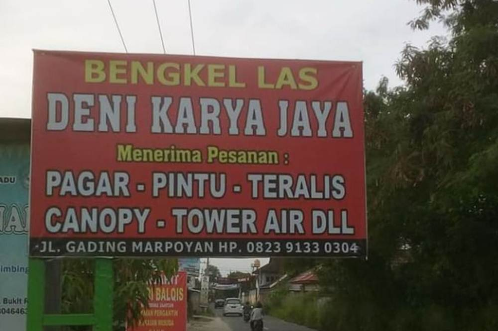 Bengkel Las Deni Karya 1 - Bengkel Las Deni Karya - Bengkel Las Marpoyan Pekanbaru