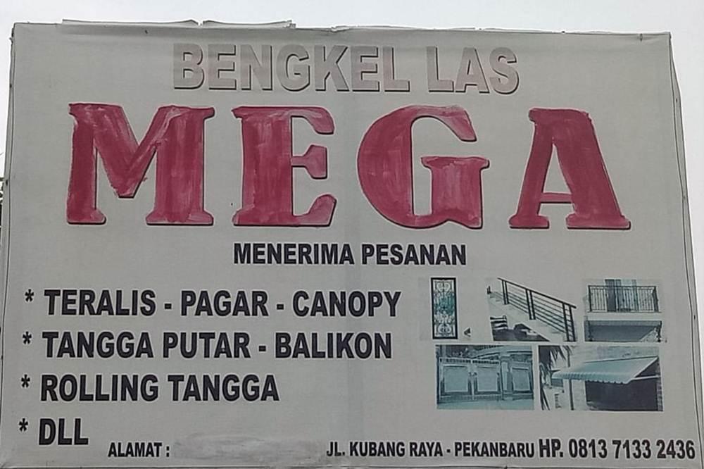 Bengkel Las Mega 1 - Bengkel Las Mega Pekanbaru