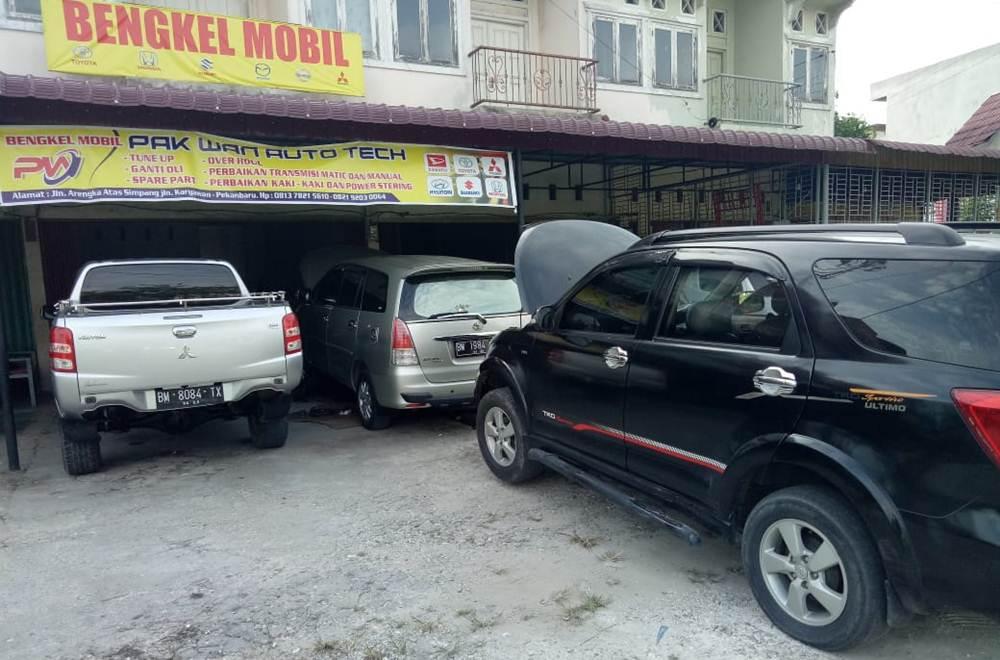 Pak Wan Auto Tech 9 - Pak Wan Auto Tech - Bengkel Mobil Arengka Pekanbaru