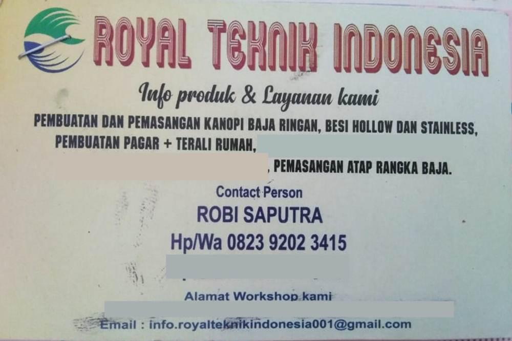 Royal Teknik Indonesia 1 - Royal Teknik Indonesia - Jasa Spesialis Welding Pekanbaru