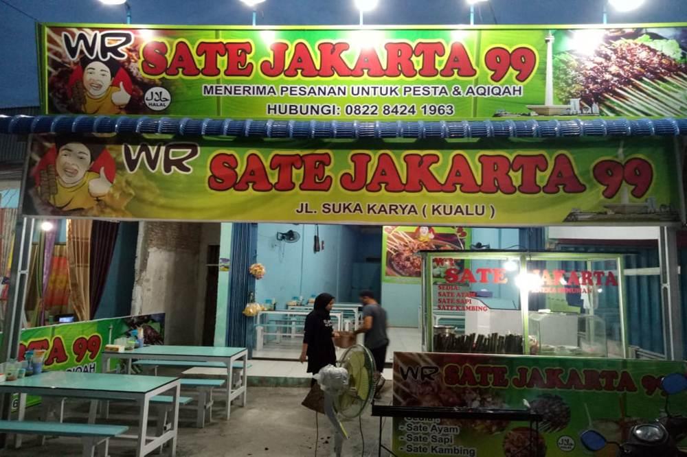 Sate Jakarta 99 1 - Sate Jakarta 99 Pekanbaru