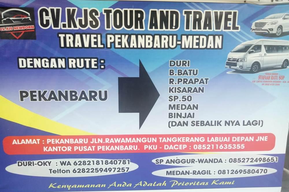 CV KJS Travel 1 - CV KJS Medan Travel - Travel Jurusan Medan | Bagan Batu | Rantau Prapat | | Kisaran | Duri | Pekanbaru