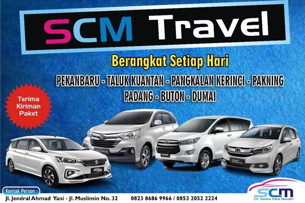 Cv Semka Citra Mandiri SCM Travel 1 - Cv Semka Citra Mandiri (SCM) Travel - Travel Jurusan Pekanbaru Kerinci Buton Taluk Kuantan Pekanbaru
