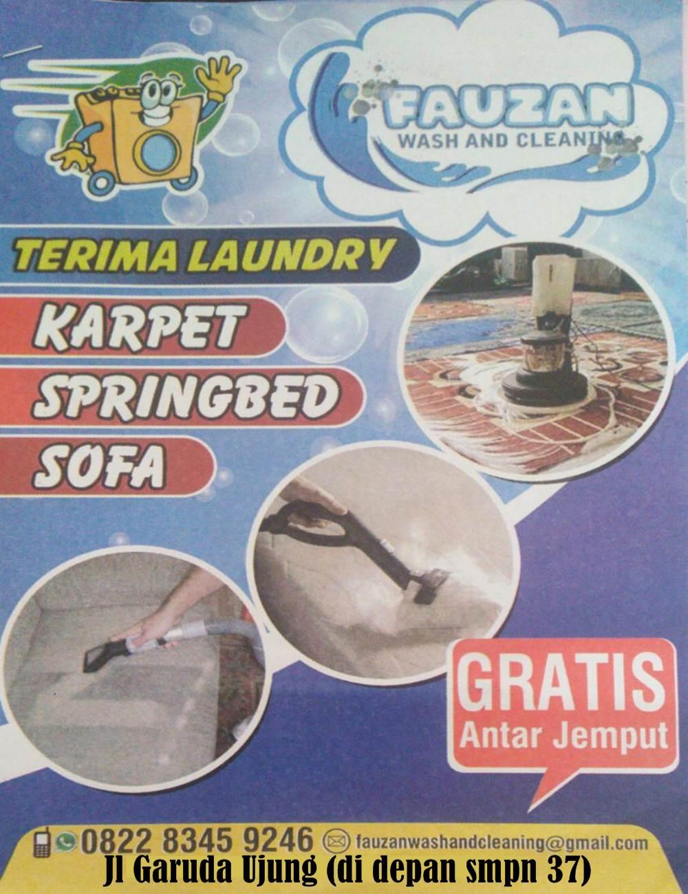 Fauzan Wash and Cleaninc 3 - Fauzan Wash and Cleaninc - Spesialis Laundry Karpet Springbed Sofa Pekanbaru