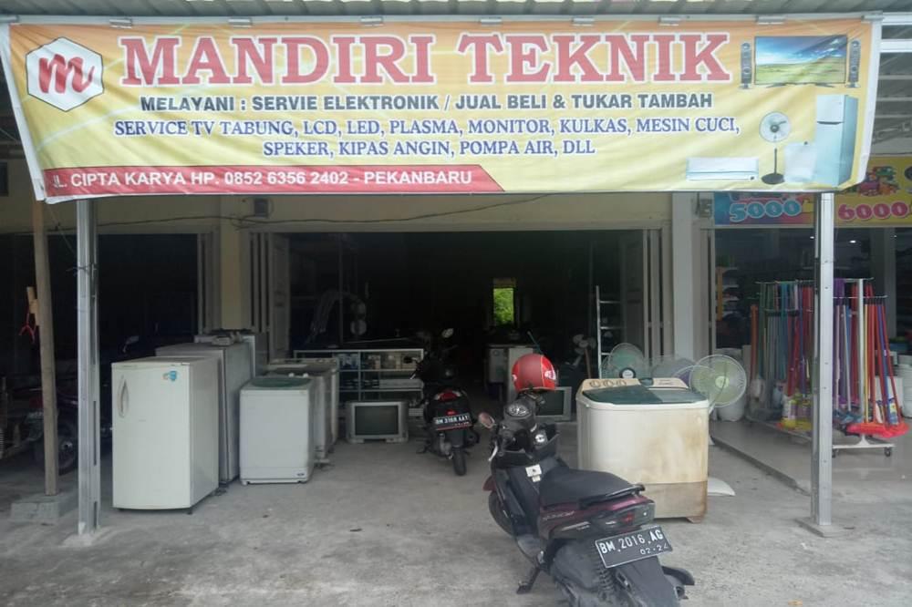 Mandiri Teknik 1 - Mandiri Teknik - Service dan Jual Beli Elektronik Pekanbaru