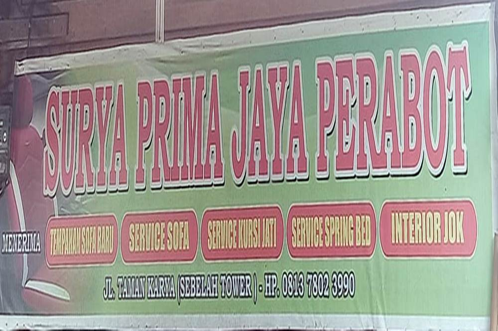 Surya Prima Jaya Perabot 1 - Surya Prima Jaya Perabot - Service dan Tempahan Kursi dan Sofa Pekanbaru