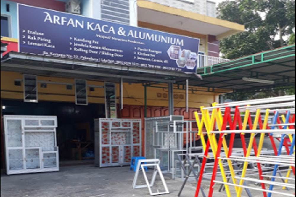 Arfan Kaca dan Aluminium Pekanbaru