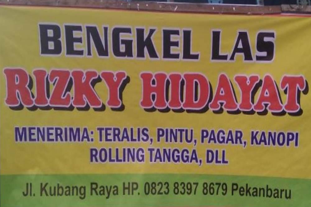 Bengkel Las Rizky Hidayat 1 - Bengkel Las Rizky Hidayat - Bengkel Las dan Kontruksi Baja Ringan Pekanbaru