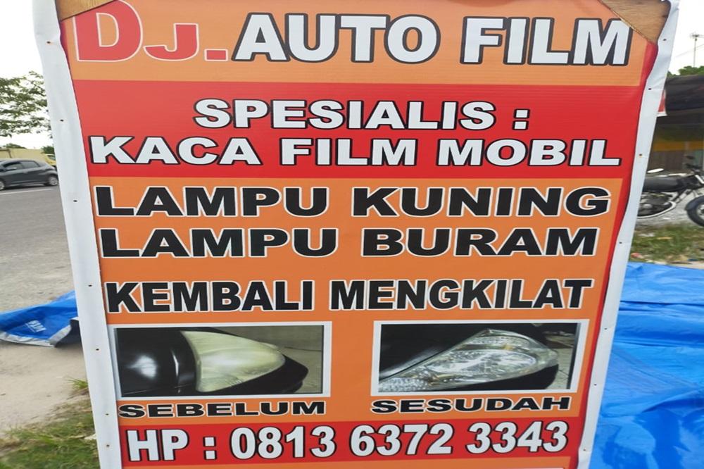 Dj Audio film Spesialis Kaca Filim Dan Coating Lampu Bergarannsi Pekanbaru 1 - Dj Auto film Spesialis Kaca Filim Dan Coating Lampu Bergarannsi  Pekanbaru