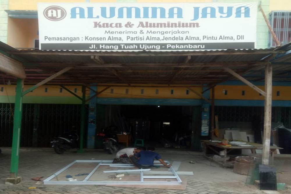 Alumina Jaya 1 - Alumina Jaya - Toko Kaca dan Alma Hangtuah Pekanbaru