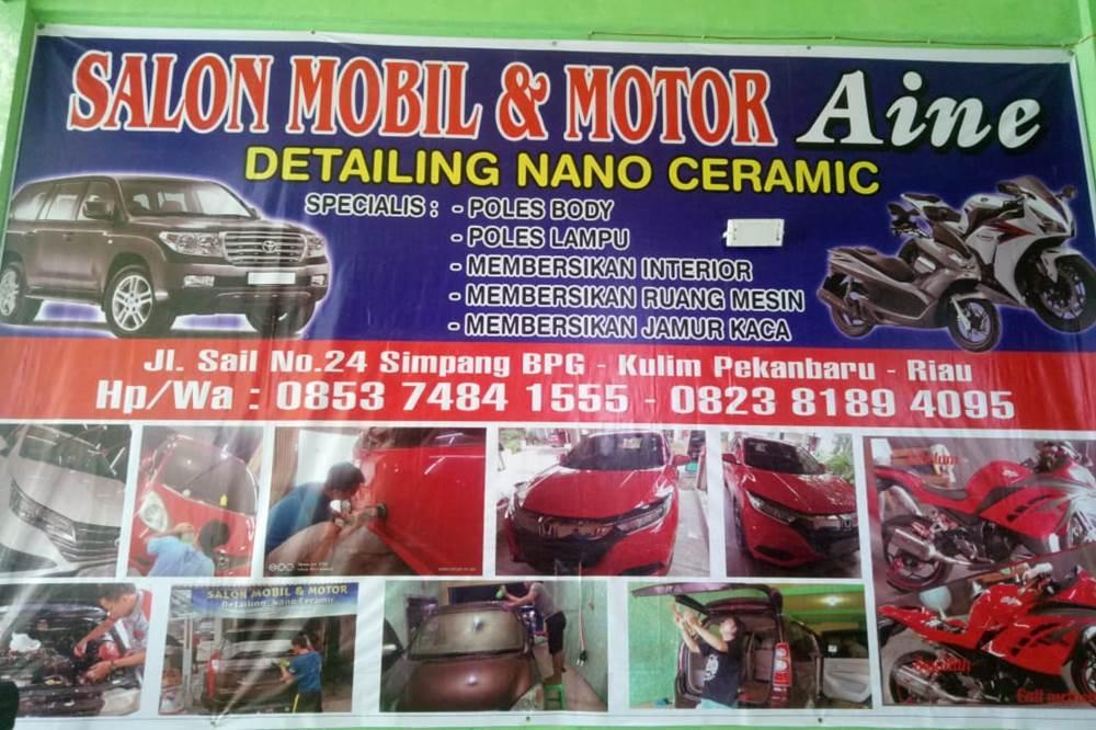 Salon Mobil Aine 1 - Salon Mobil Aine  - Salon Mobil dan Motor Terdekat Pekanbaru