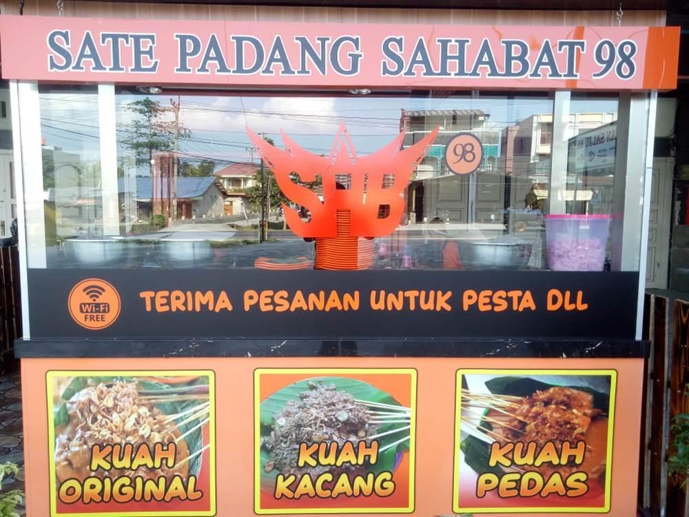 Sate dan Soto Padang Sahaba 98 2 - Sate dan Soto Padang  Sahabat 98 - Sate dan Soto Padang Enak Pekanbaru