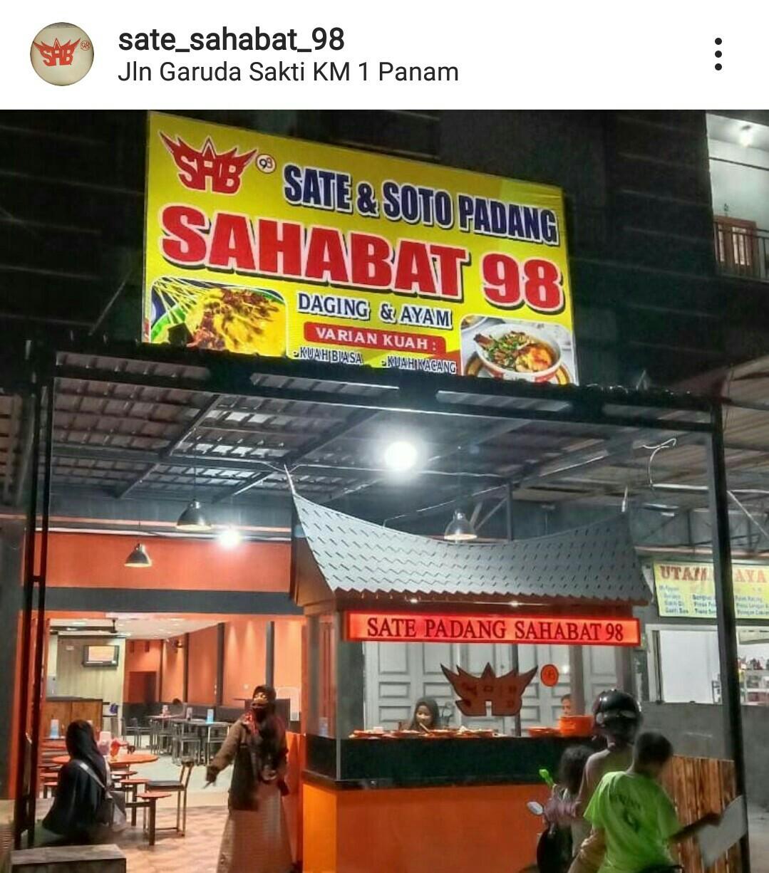 Sate dan Soto Padang Sahaba 98 7 - Sate dan Soto Padang  Sahabat 98 - Sate dan Soto Padang Enak Pekanbaru