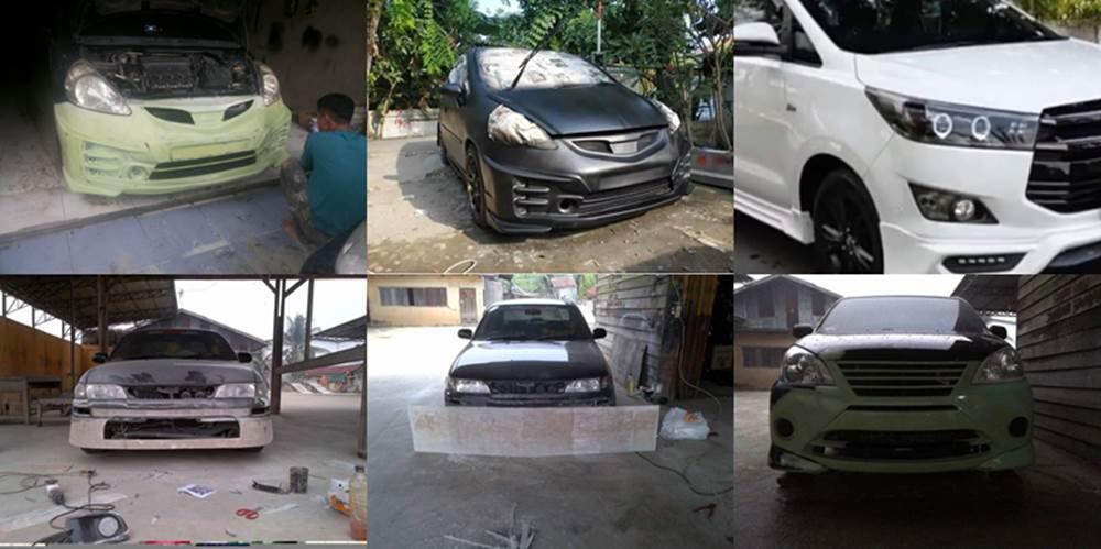 Auto Design Andra Fyber 4 - Bengkel Cat Mobil Daerah Kulim Pekanbaru