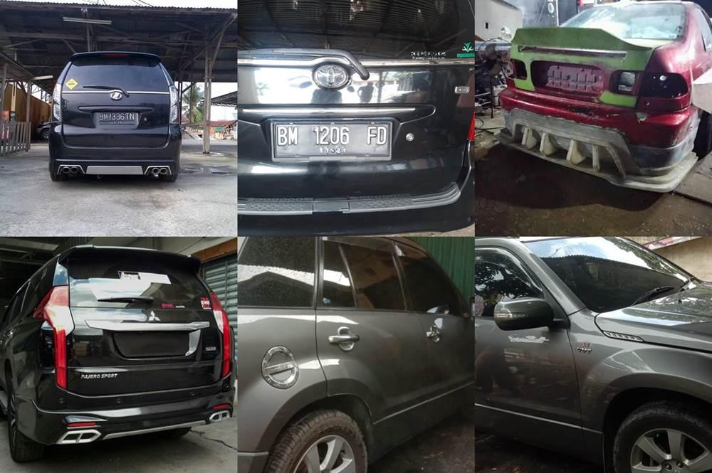 Auto Design Andra Fyber 6 - Bengkel Cat Mobil Daerah Kulim Pekanbaru