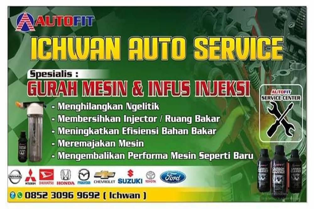 Ichwan Auto Service 1 - Spesialist Gurah Mesin dan Infus Injeksi Mobil Pekanbaru