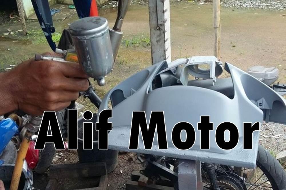 Alif Motor 1 - Bengkel Cat Motor Daerah Kulim Pekanbaru