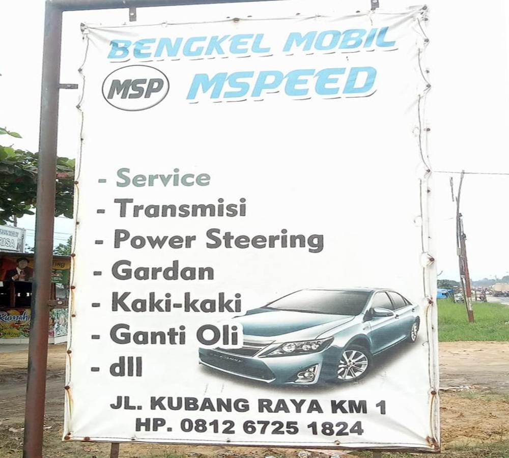 Bengkel Mobil M Speed 4 - Bengkel Mobil M Speed - Bengkel Mobil Daerah Kubang Pekanbaru